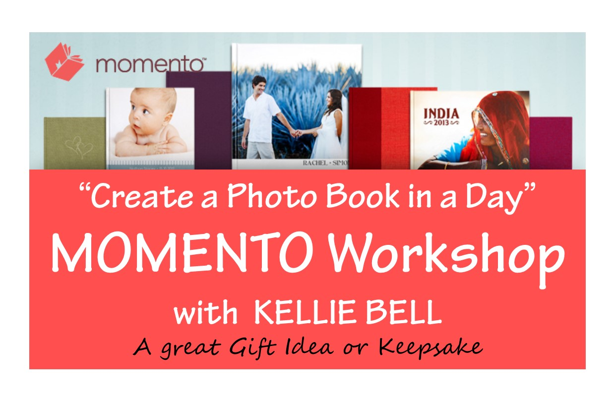 "Image: ""Create a Photobook in a Day"" MOMENTO Workshop"