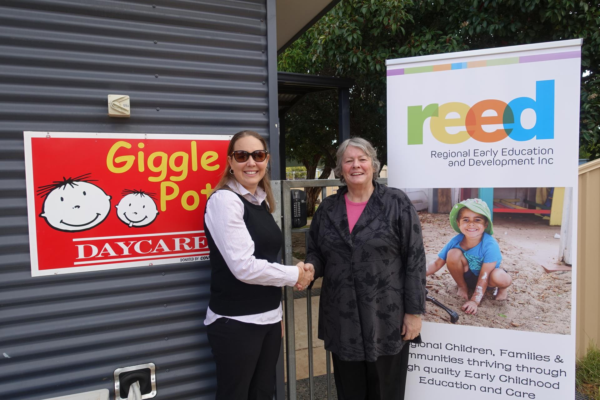 CORRIGIN BECOMES THE FIRST WHEATBELT CHILDCARE CENTRE TO JOIN REED
