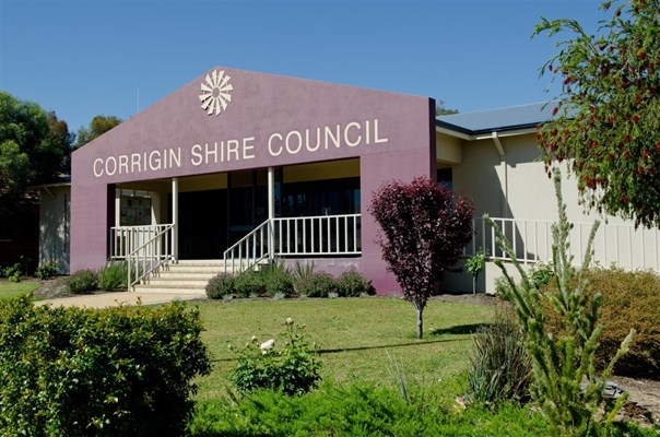 Facilities & Services - Shire of Corrigin office