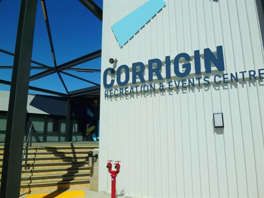 Sports & Recreation - Corrigin Recreation & Events Centre