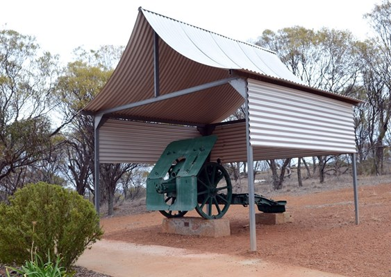 Attractions - WWI Turkish Gun at RSL Memorial Lookout