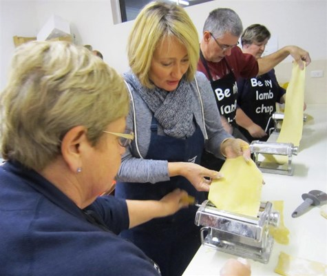 Corrigin CRC Training & Workshops - Adult Learners Week 2015 - Pasta Making Class 7-9-15