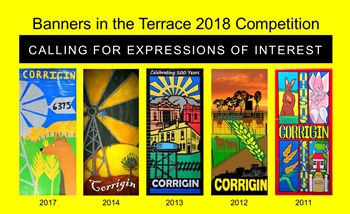 BANNERS IN THE TERRACE COMPETITION 2018