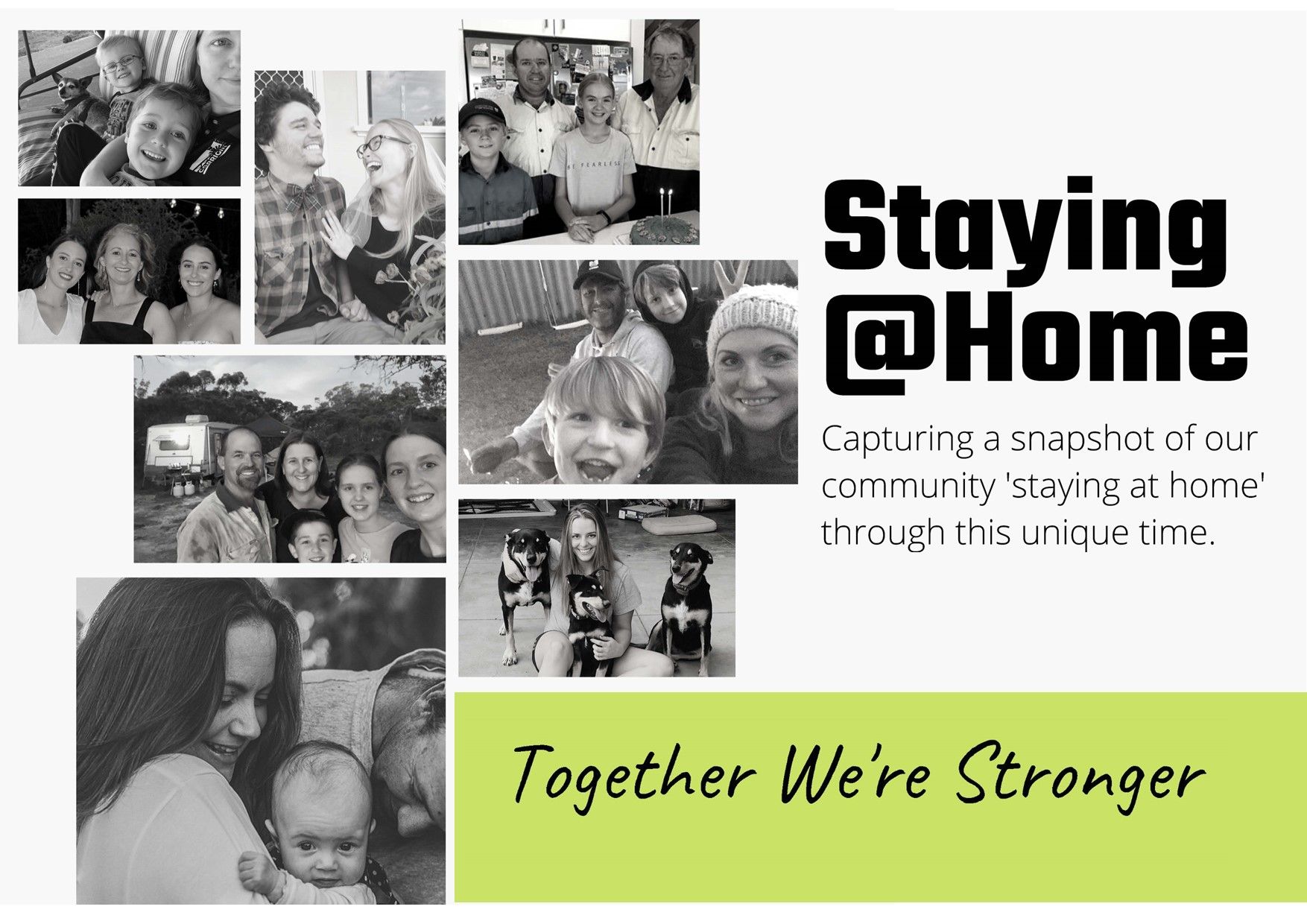 CORRIGIN COMMUNITY PHOTO PROJECT 'Staying@Home'