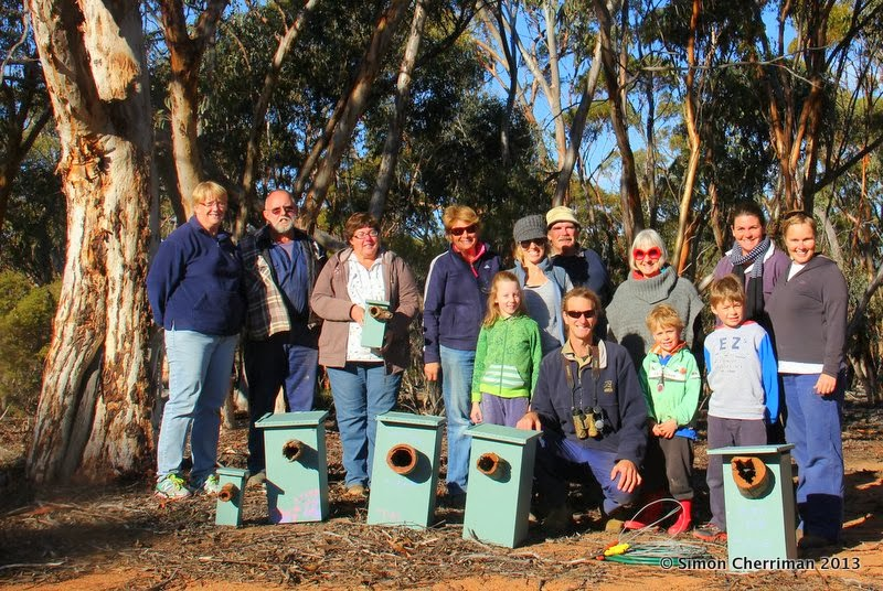 Corrigin Reserve - Nesting Box Workshop