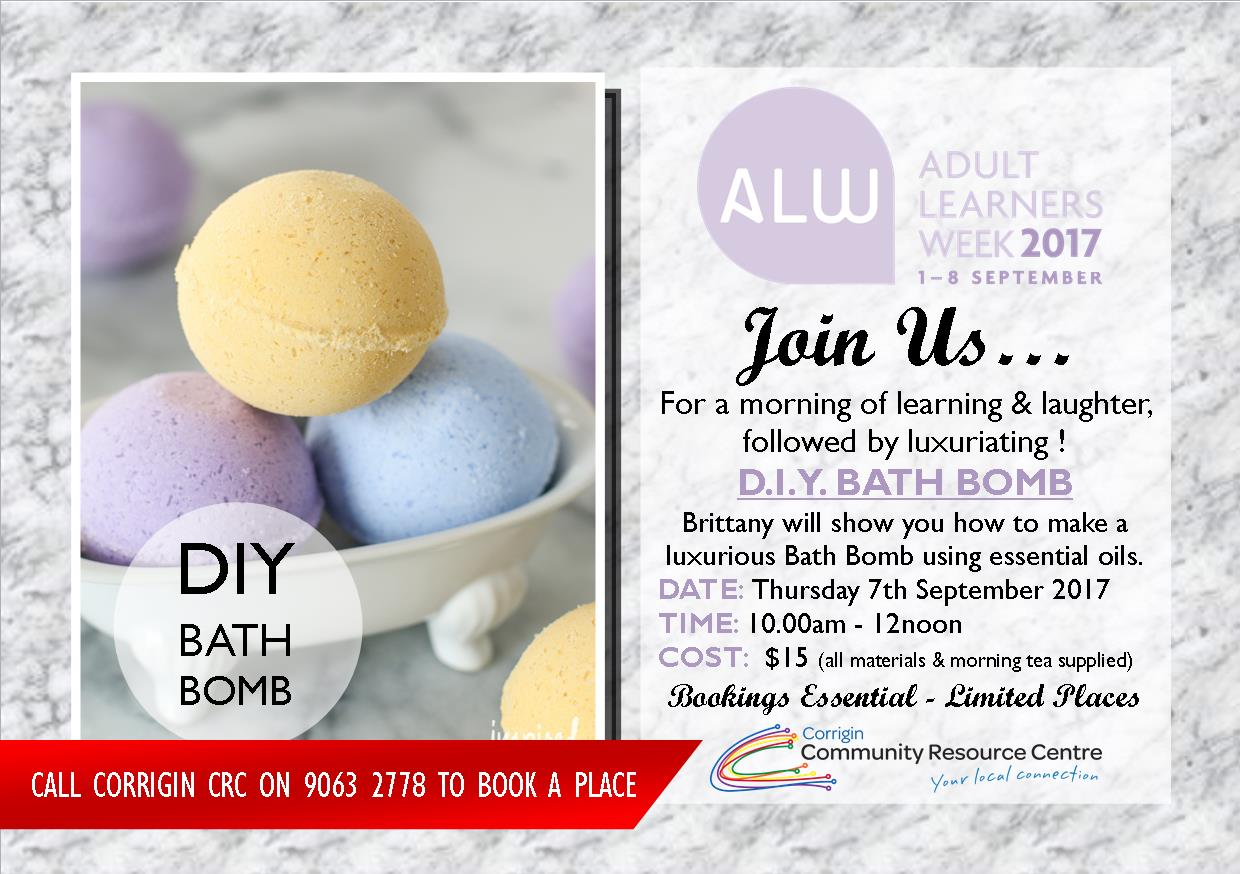 Image: D.I.Y BATH BOMB Workshop